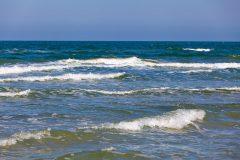 Der Ostseestrand des Ostseebades Baabe